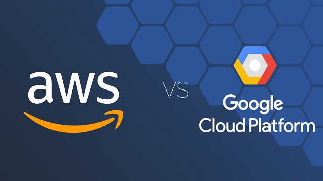 amazon web services va google cloud india