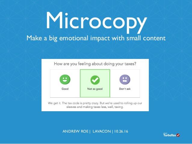 microcopy example