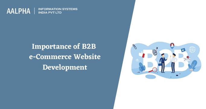 b2b ecommerce website development