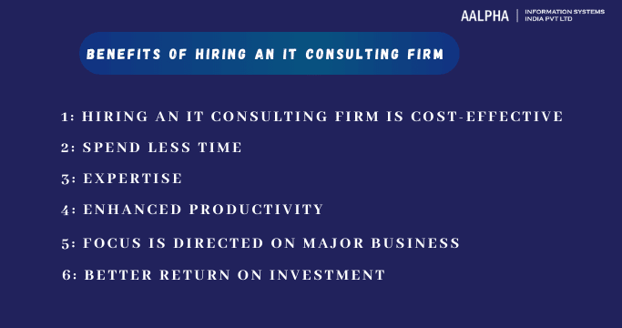 Benefits of Hiring an IT Consulting firm