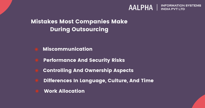 Mistakes Most Companies Make During Outsourcing