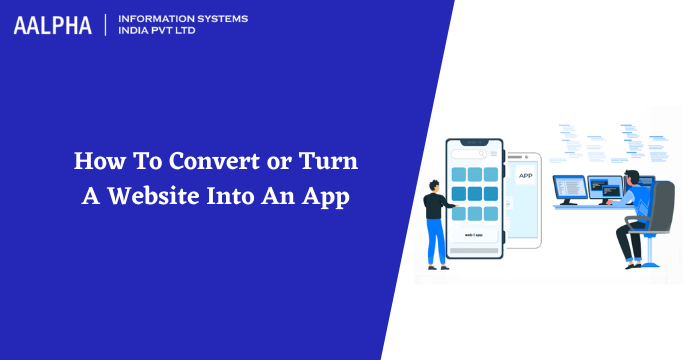 turn website into app