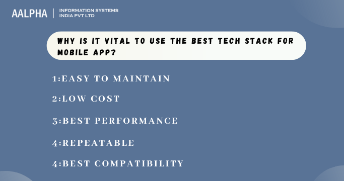 Best Tech Stack for Mobile App