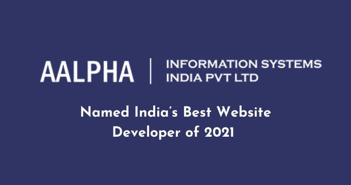 India's Best Website Developer of 2021