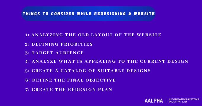 Website revamp checklist