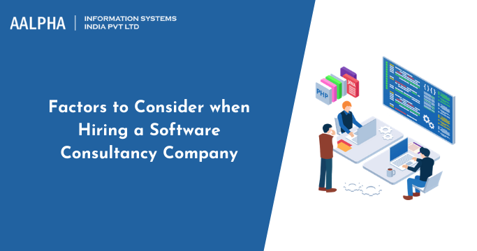 Hiring a Software Consultancy Company