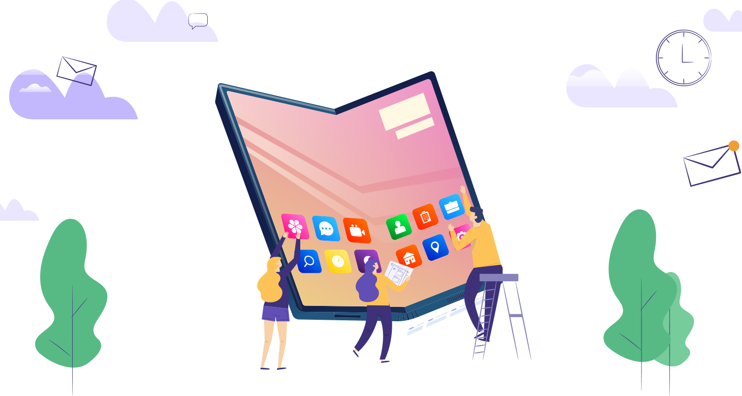 develop apps for foldable devices