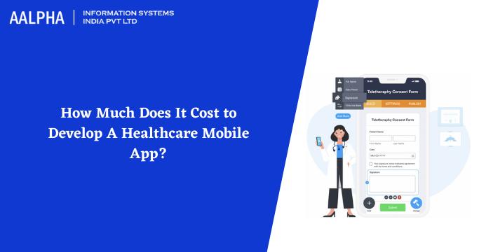 healthcare app development cost