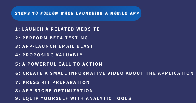 Launching a Mobile App