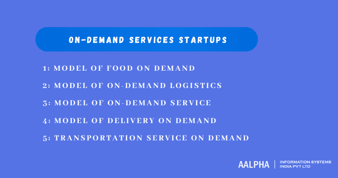 On-demand services startups