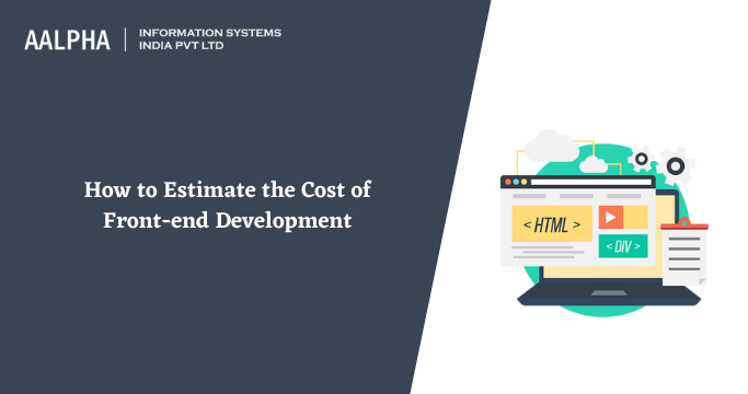 front-end development cost